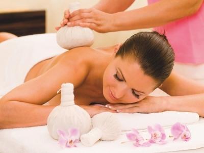 Kräuter-Massage